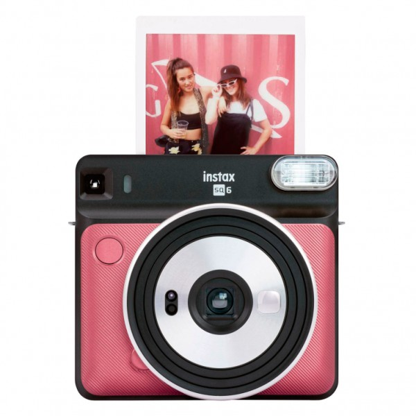 Instax Square SQ6 RUBY RED (квадратный кадр) УЦЕНКА