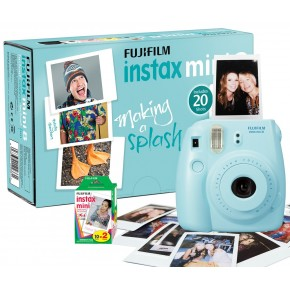 Fujifilm Instax Mini 8 Blue + 5 кассет