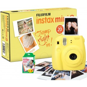 Fujifilm Instax Mini 8 Yellow + 5 кассет