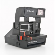 Фотоаппарат Polaroid One Step Flash Red Strip