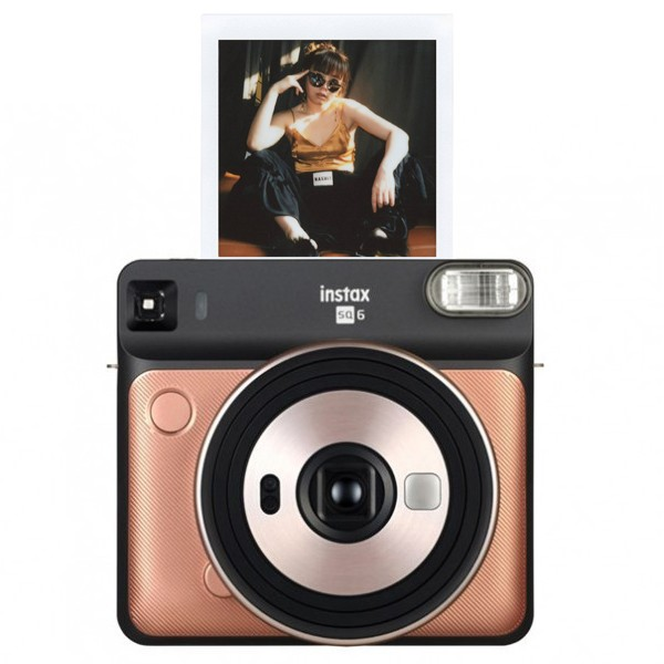 Instax Square SQ6 BLUSH GOLD (квадратный кадр)