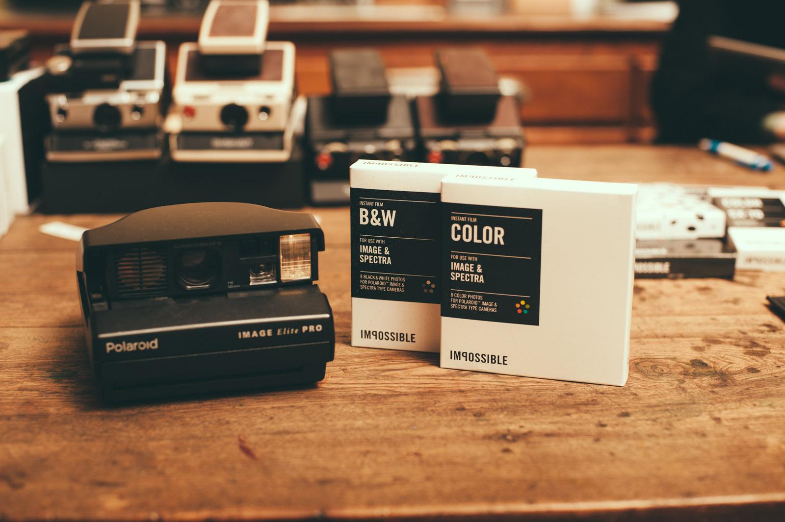 Кассеты для Polaroid Image/Spectra