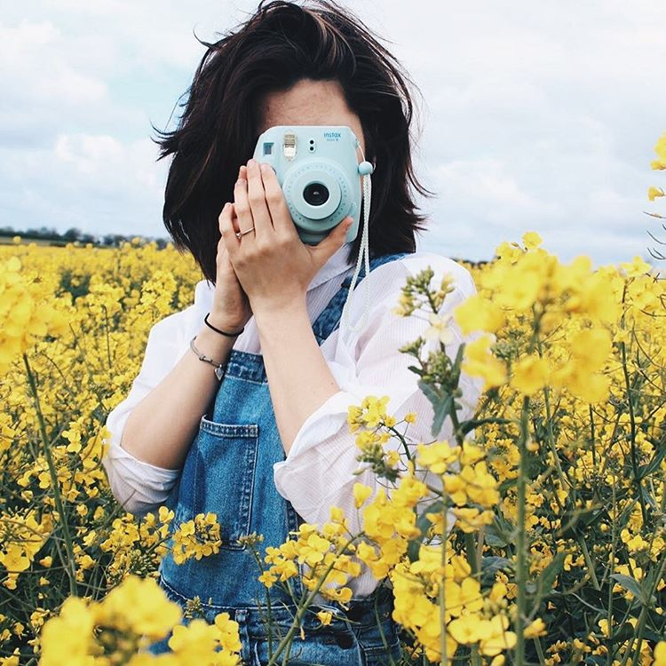 Instax mini 8 blue