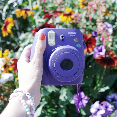 Instax mini 8 purple