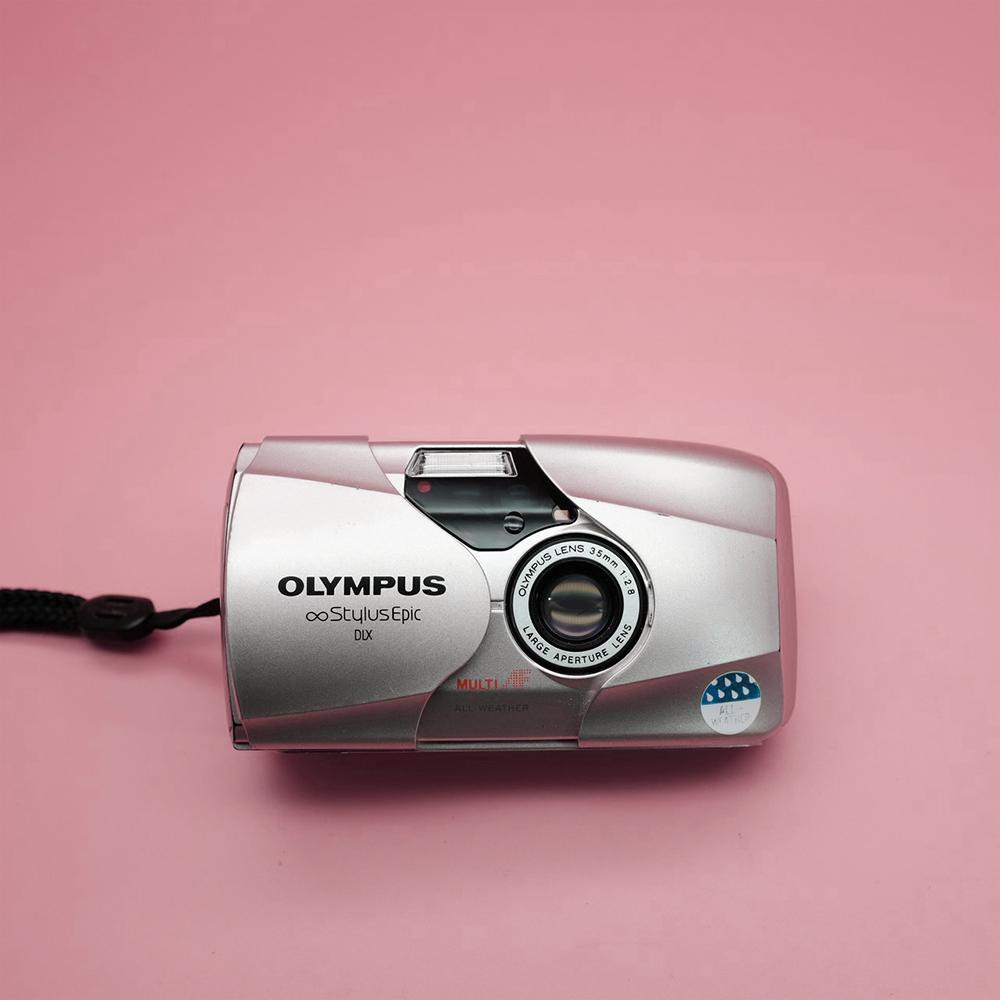 Пленочный фотоаппарат Olympus Mju II